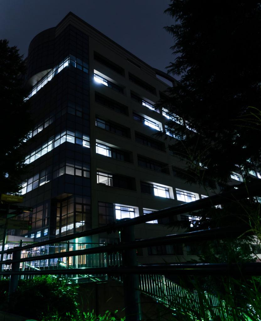 図12 一眼レフでの夜間撮影