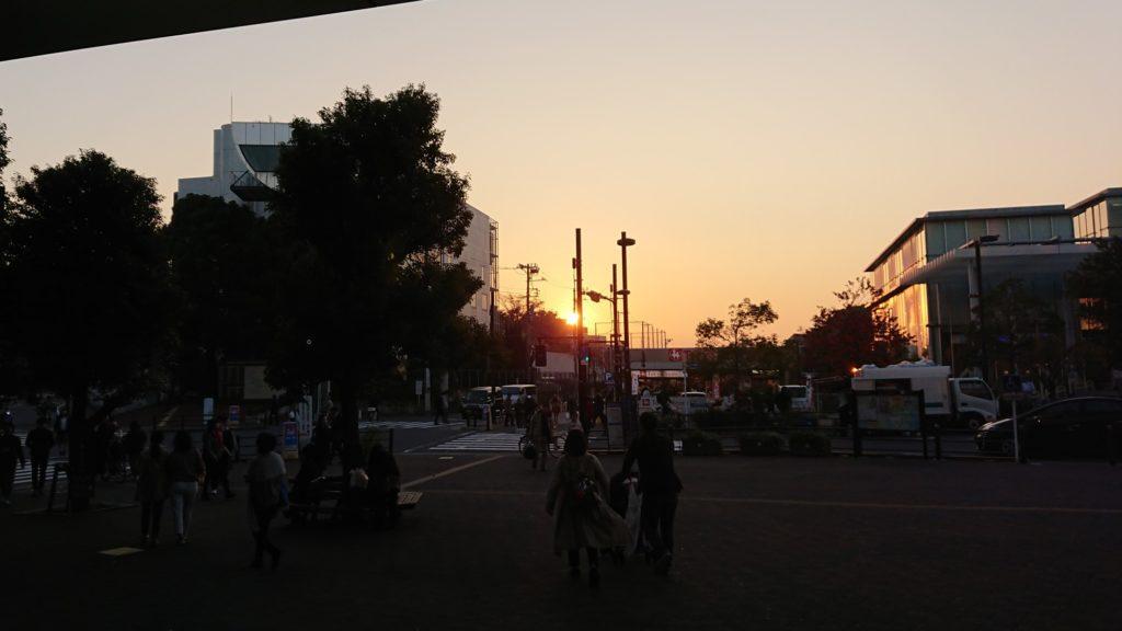 日没位置の把握