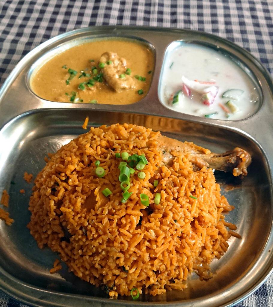 南インド料理店ムット ビリヤニランチ